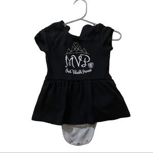 NFL Raiders Baby Girl's Black Dress - 6-9Months